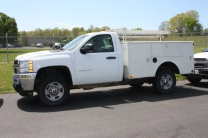 '11 Chevrolet 2500 4WD with Utility Bed 136,142 Miles