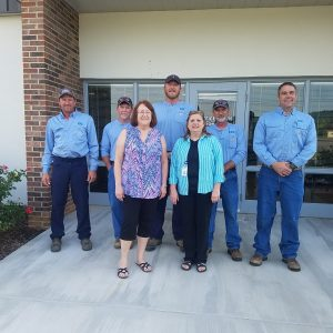 VEC Benton Office Staff and Linemen