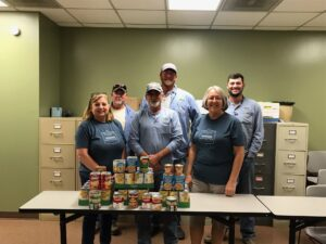 Benton Service Area Food Drive